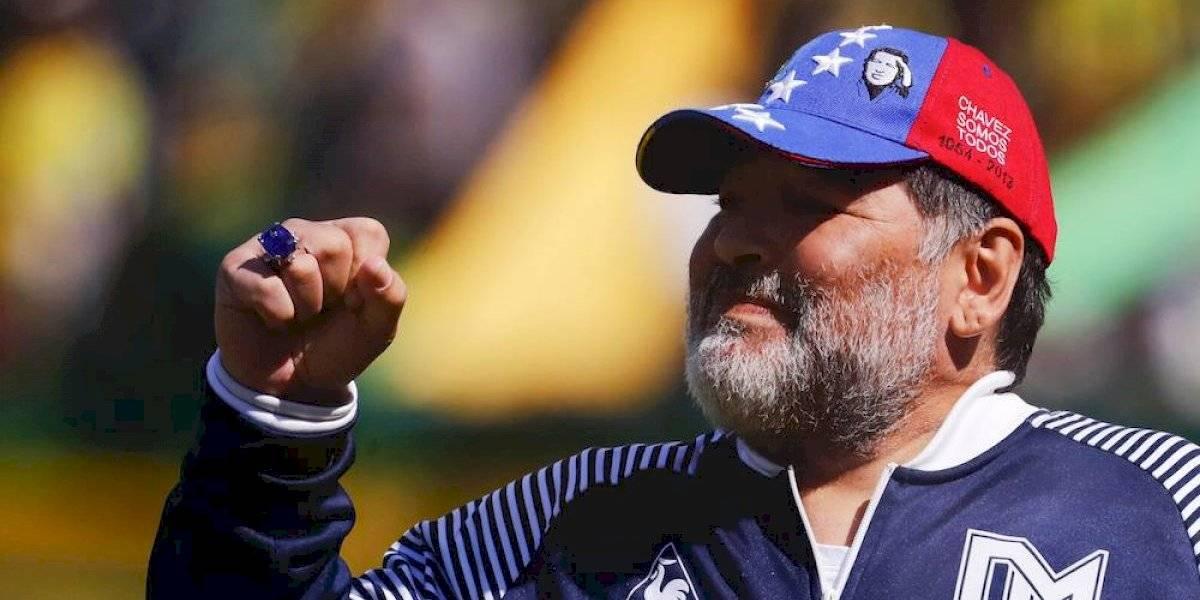 'Lamento el golpe de estado orquestado en Bolivia': Diego Armando Maradona