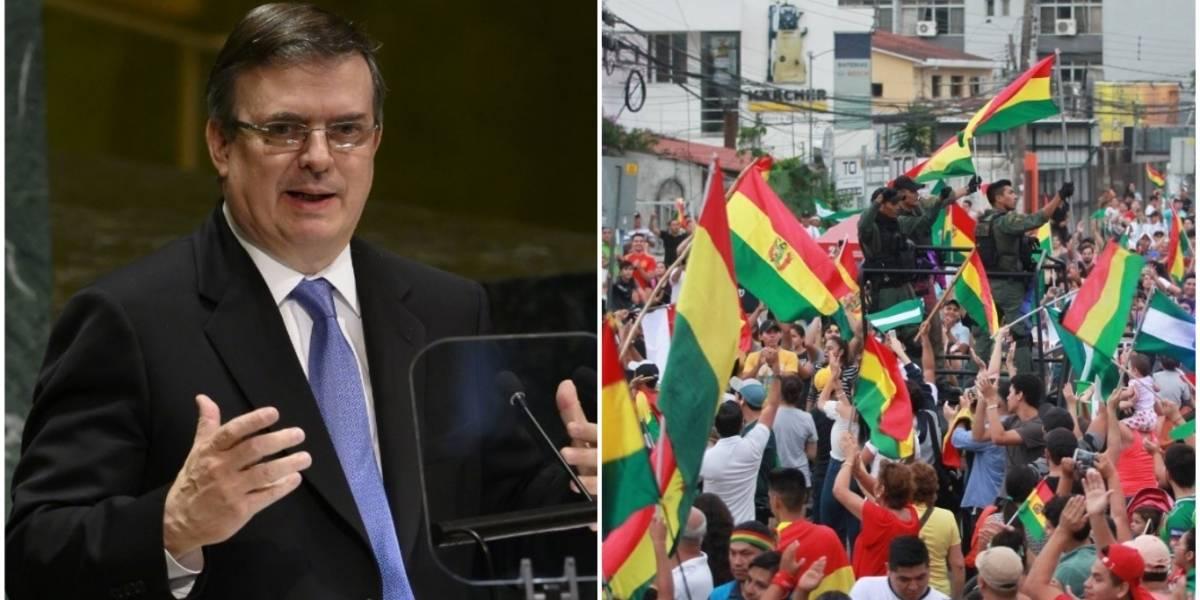 México pide reunión urgente de la OEA por situación en Bolivia