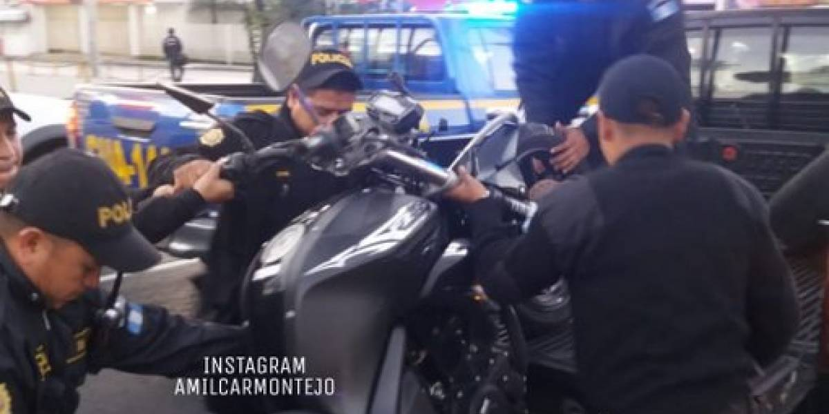 Mujer herida tras ser atropellada por motocicleta en zona 12