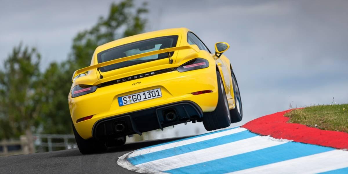 Ya vienen los Porsche 718 Cayman y Boxster EV