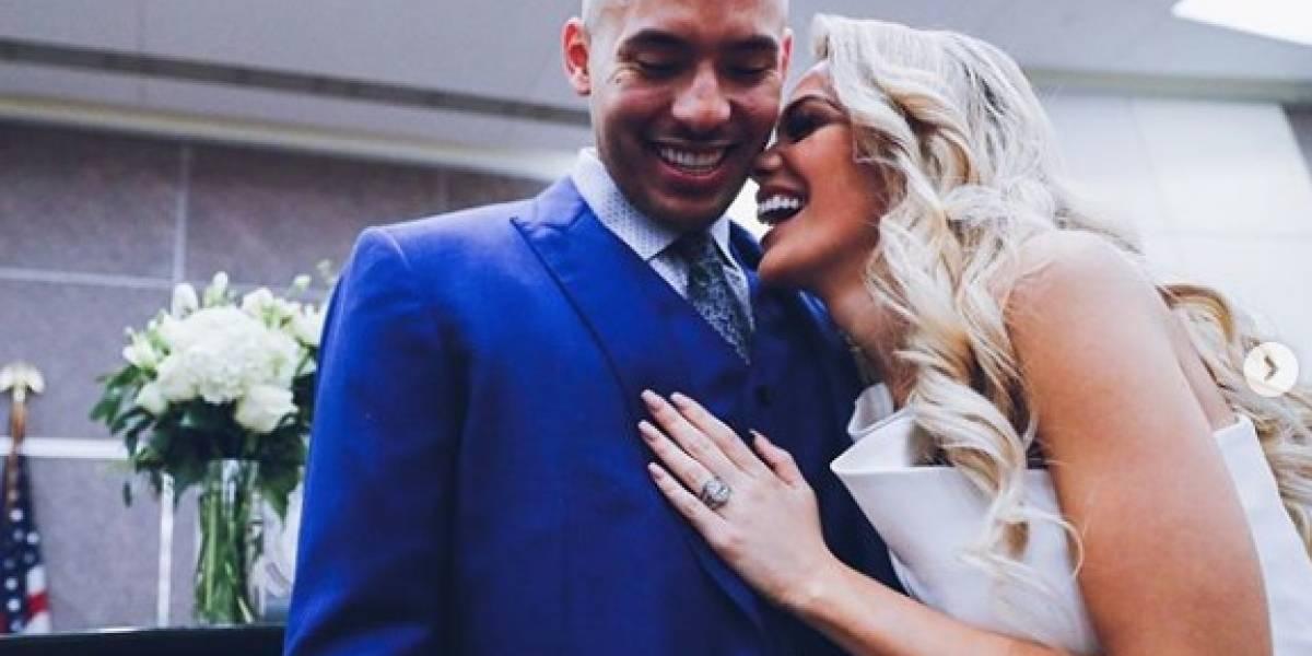 Celebra en grande su boda Carlos Correa