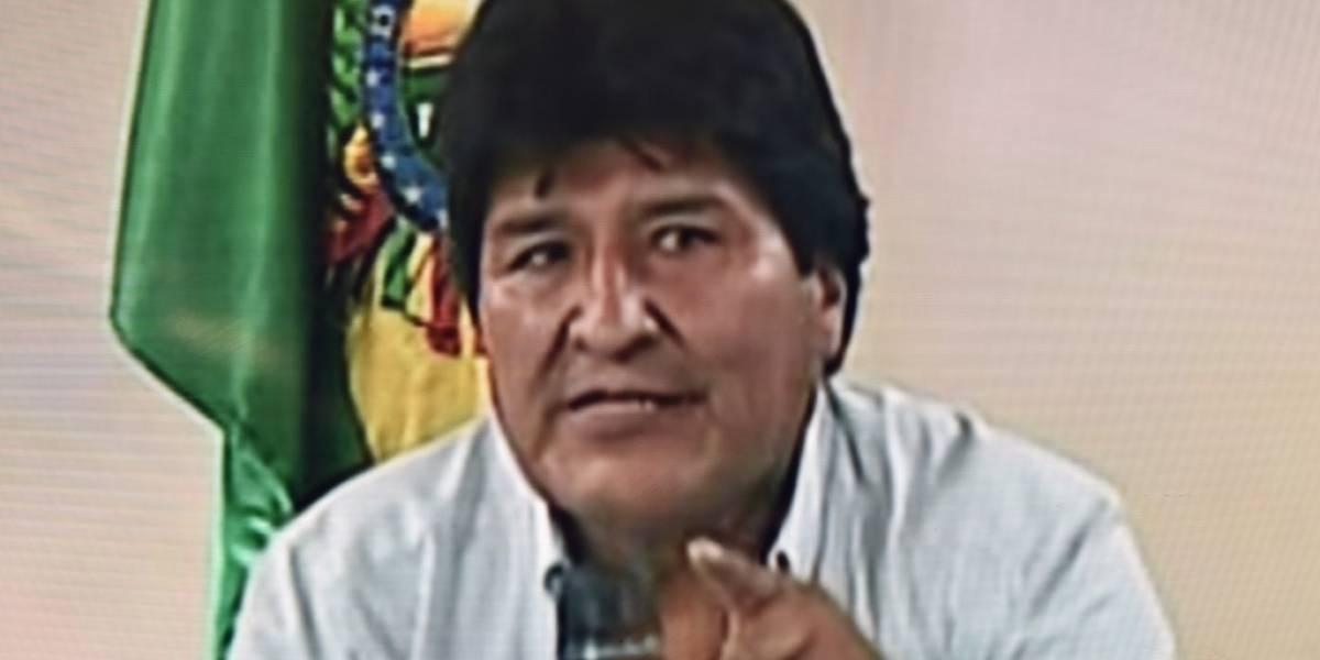 """Tras renunciar, Evo Morales pide """"pacificar"""" Bolivia"""