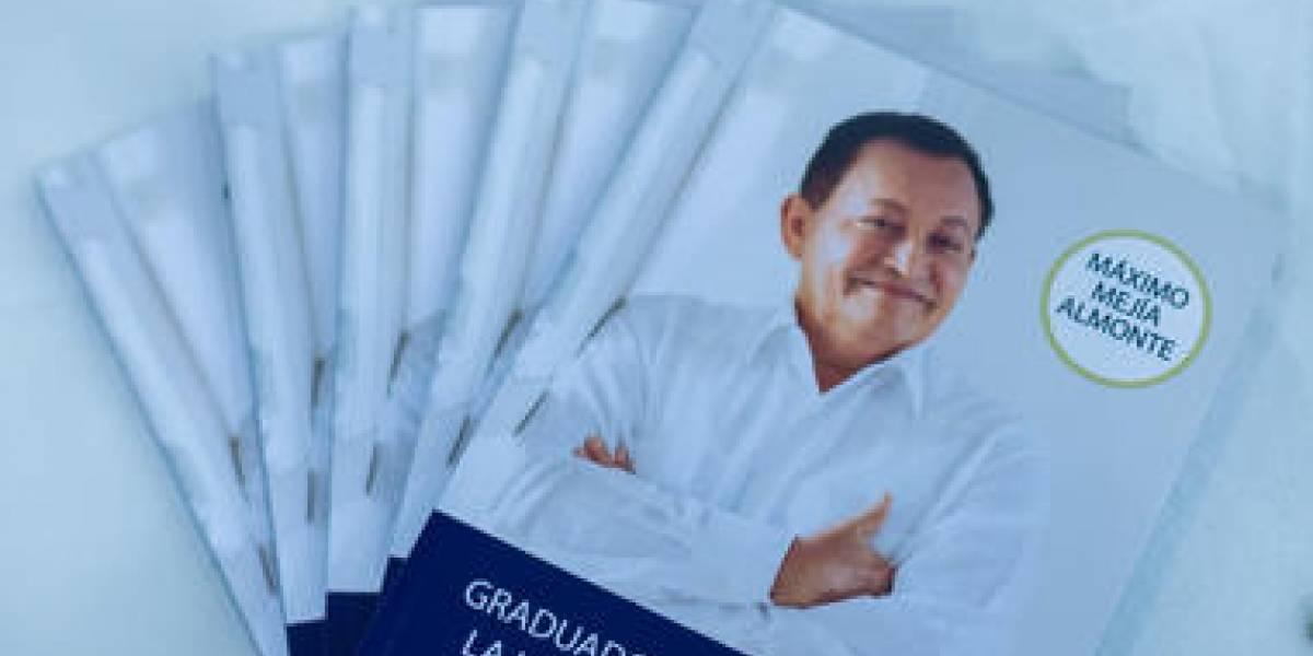 "Presentan libro ""Graduado de la universidad de la vida"""