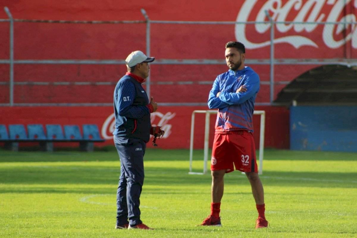 Walter González y Carlos Kamiani
