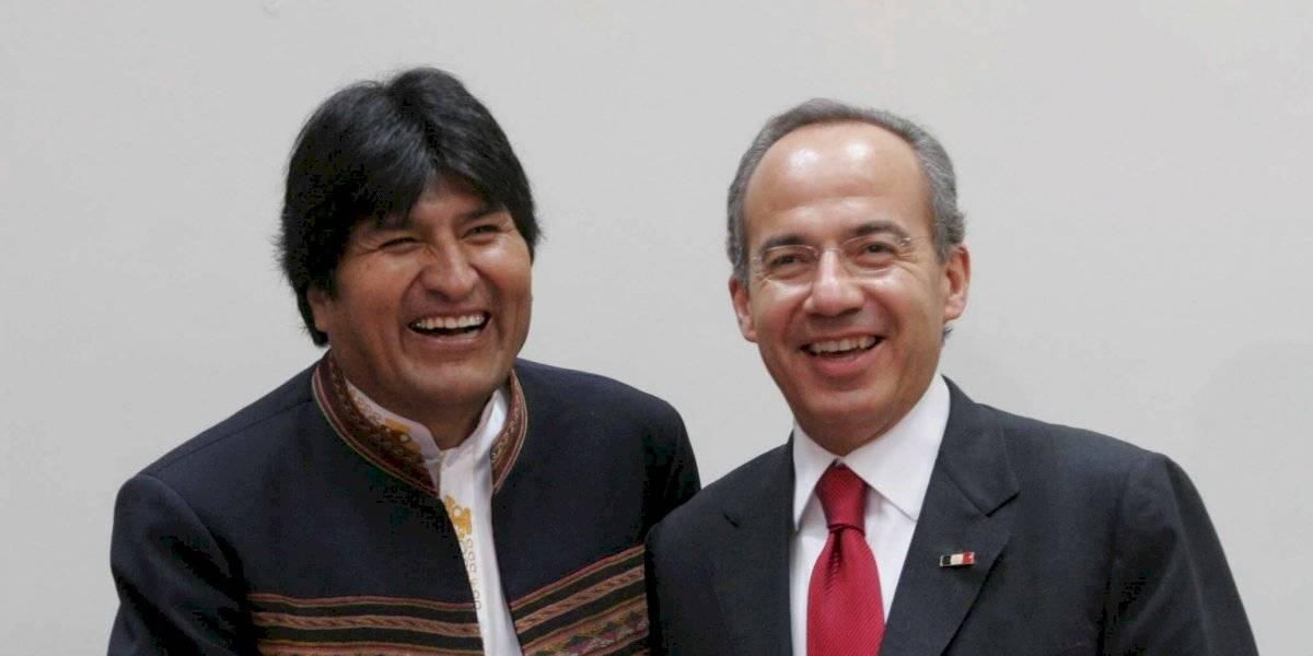 Así han sido otros acercamientos de Evo Morales con México