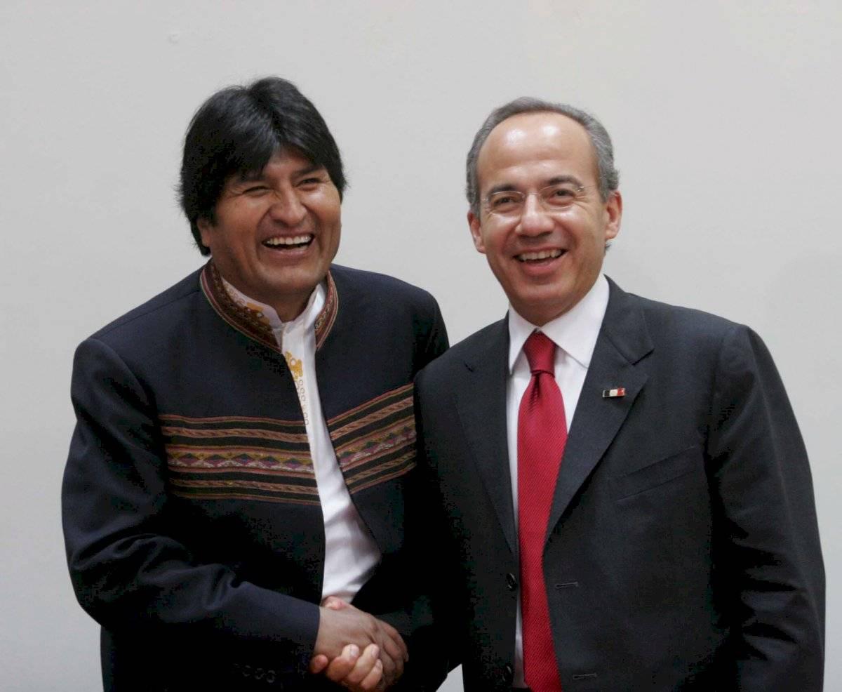 Mientras que en 2008, Felipe Calderón Hinojosa, se reunió con él en el marco de la Quinta Cumbre de Jefes de Estado y de Gobierno ALC-UE.