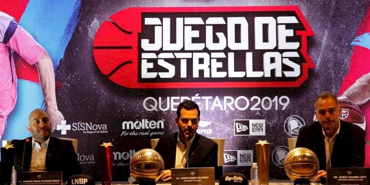 Querétaro será la sede del Juego de Estrellas de la LNBP