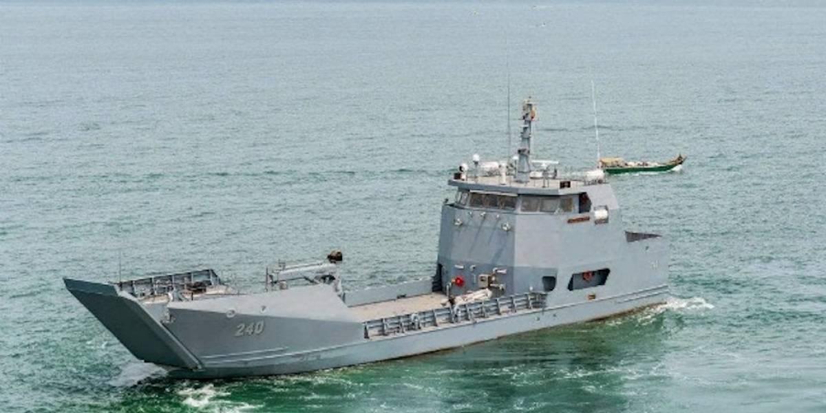 Esperan arribo de buque que fue comprado por Guatemala a Colombia