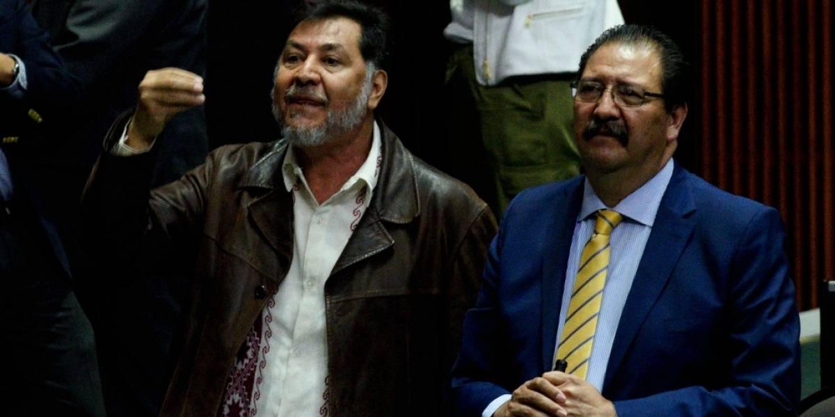 Pide Fernández Noroña a diputados dar 'cooperación' para Evo Morales