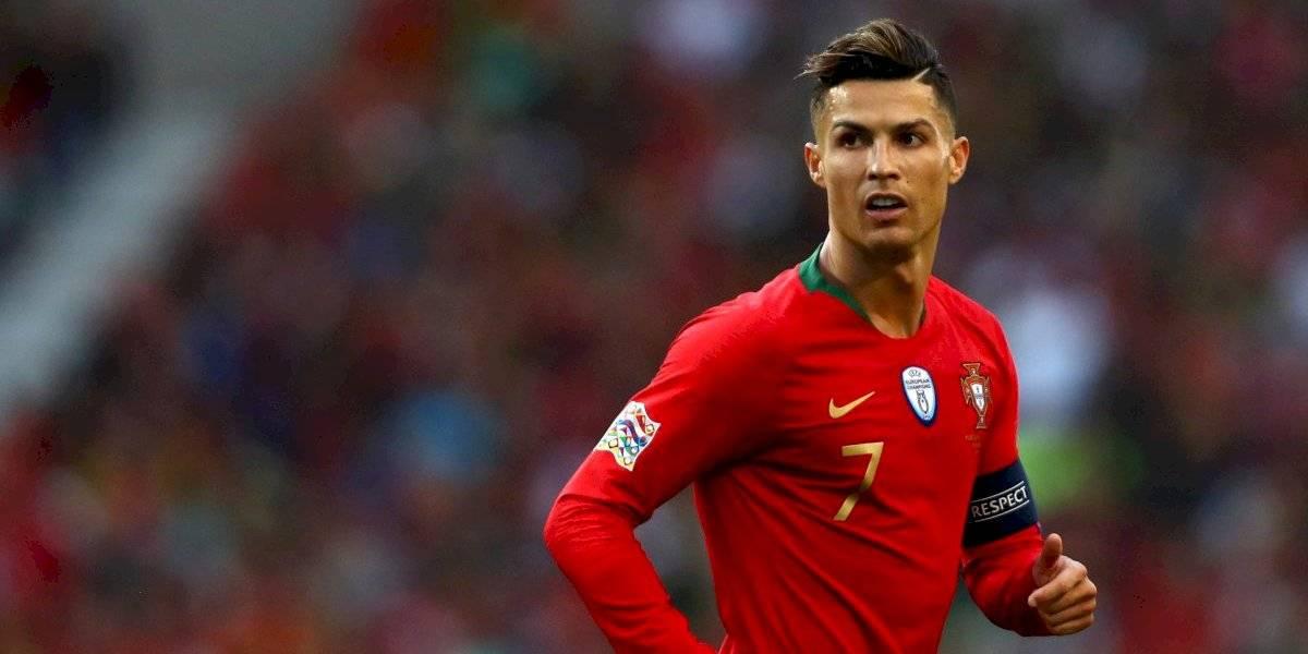 Cristiano aleja rumores de lesión y entrena con normalidad en Portugal