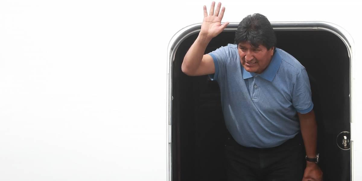 'Líderes de oposición' repudian que México conceda asilo político a Evo Morales