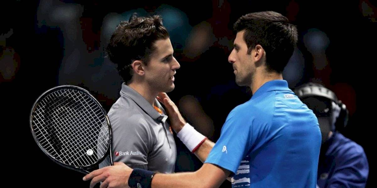Thiem se impone sobre Djokovic y avanza a semifinales