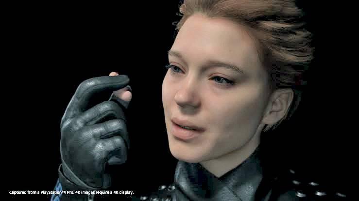 """Uma das personagens principais do game é modelada e dublada pela atriz Léa Seydoux (""""Azul é a Cor Mais Quente""""). Reprodução"""