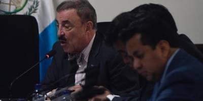Fernando Linares Beltranena, integrante de la comisión de Derechos Humanos.