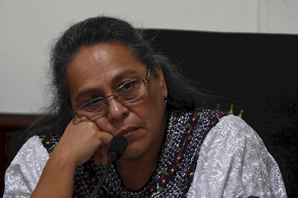 Sandra Morán, integrante de la comisión de Derechos Humanos. Foto: Edwin Bercián