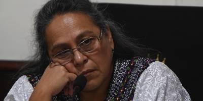 Sandra Morán, integrante de la comisión de Derechos Humanos.