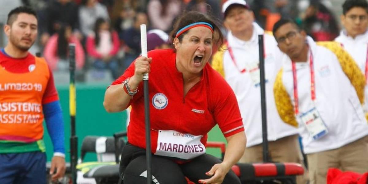 Francisca Mardones hizo historia al batir el récord mundial paralímpico del lanzamiento de la bala