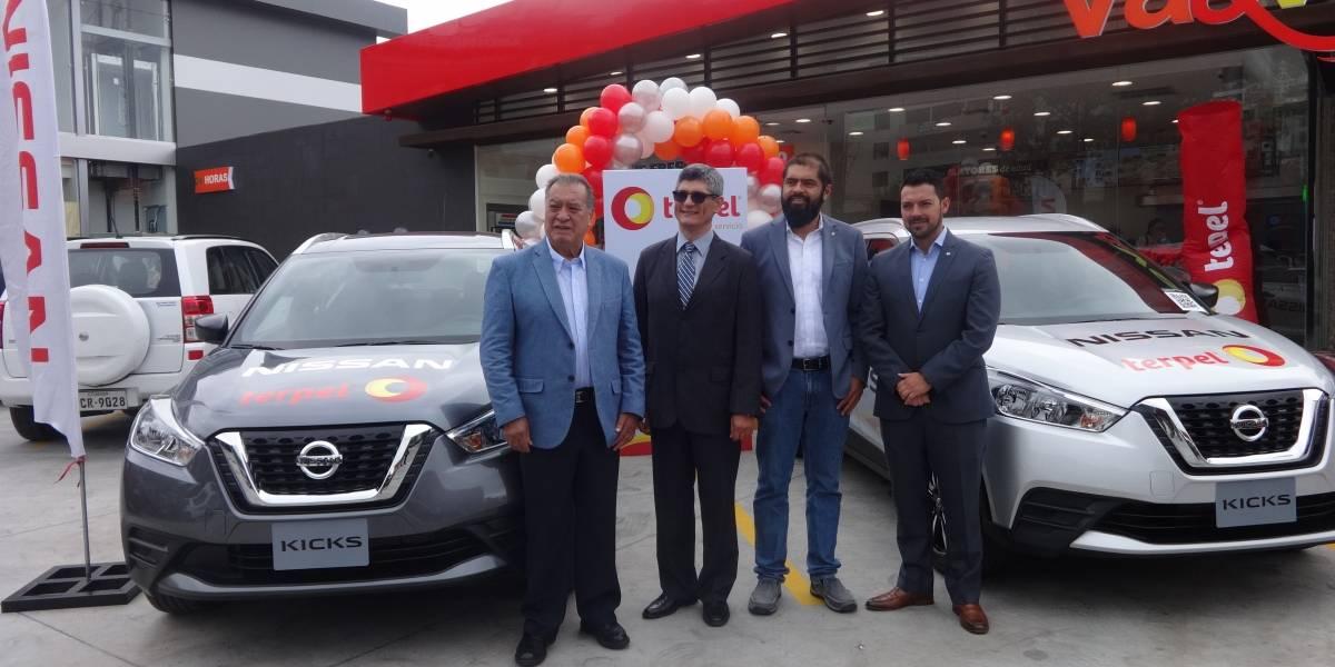 Tanquea y Rueda, la nueva campaña de Terpel y Nissan