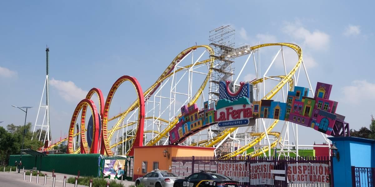 Feria de Chapultepec sería parque temático; peligra la Montaña Rusa y otros juegos