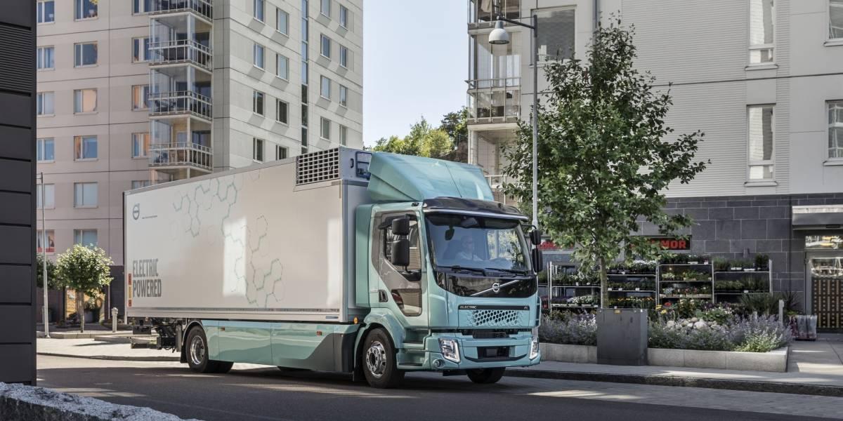 Volvo planea revolucionar el transporte de cargas urbanas con sus camiones eléctricos