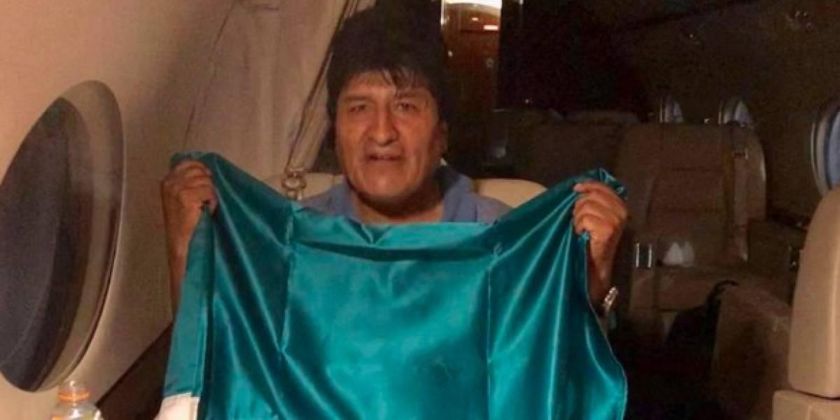 """""""Volveré con más fuerza y energía"""", advierte Evo Morales rumbo a México"""