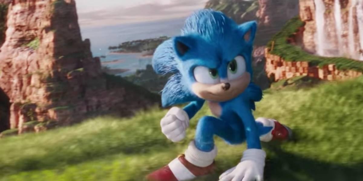 Com novo visual, Paramount divulga trailer de 'Sonic: O Filme'