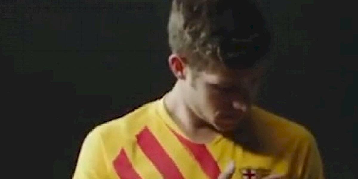 VIDEO. El nuevo uniforme del Barcelona que causa polémica en España