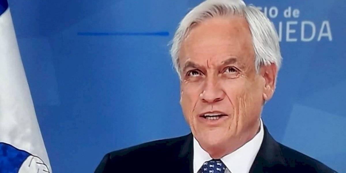 Piñera remarca graves hechos de violencia y anuncia reforzamiento de Carabineros y PDI