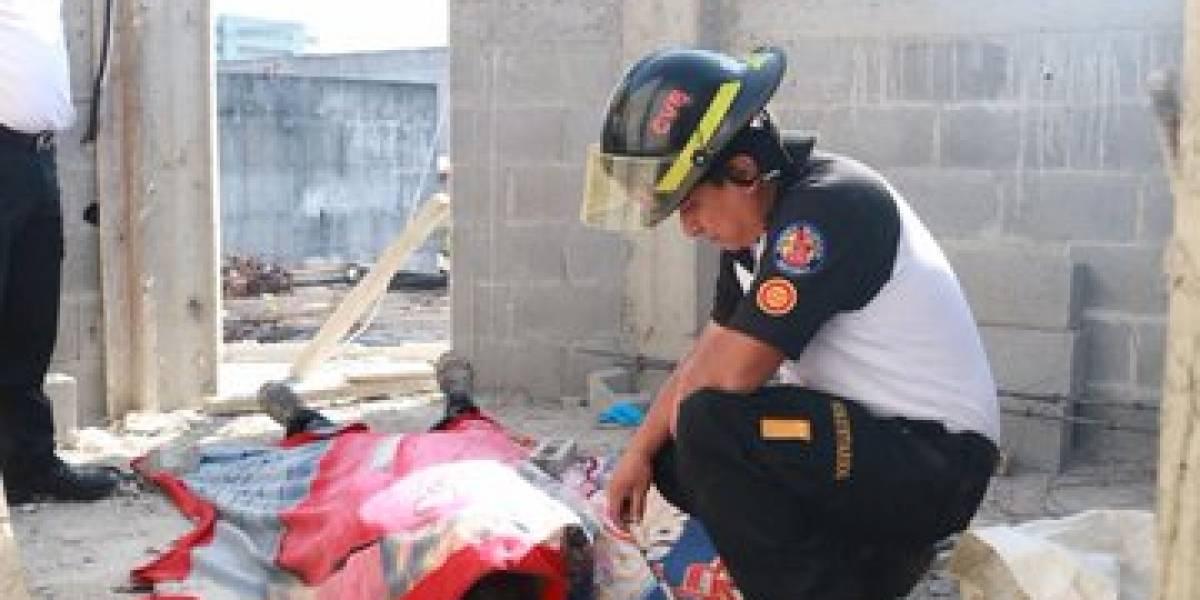 Trabajador de la construcción muere electrocutado en zona 11