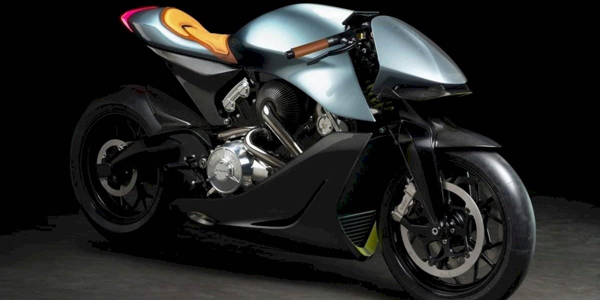 Así es AMB 001, la exclusiva primera moto de Aston Martin