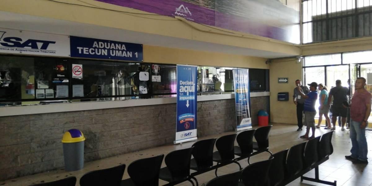 CIG exige la liberación de rehenes en Tecún Umán