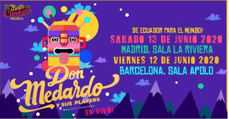 Don Medardo y sus Players de Mauricio Luzuriaga