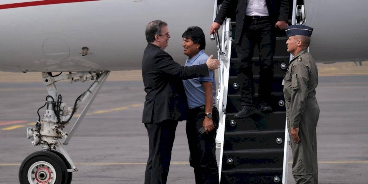 Ebrard enviará al Senado informe sobre el asilo de Evo Morales en México