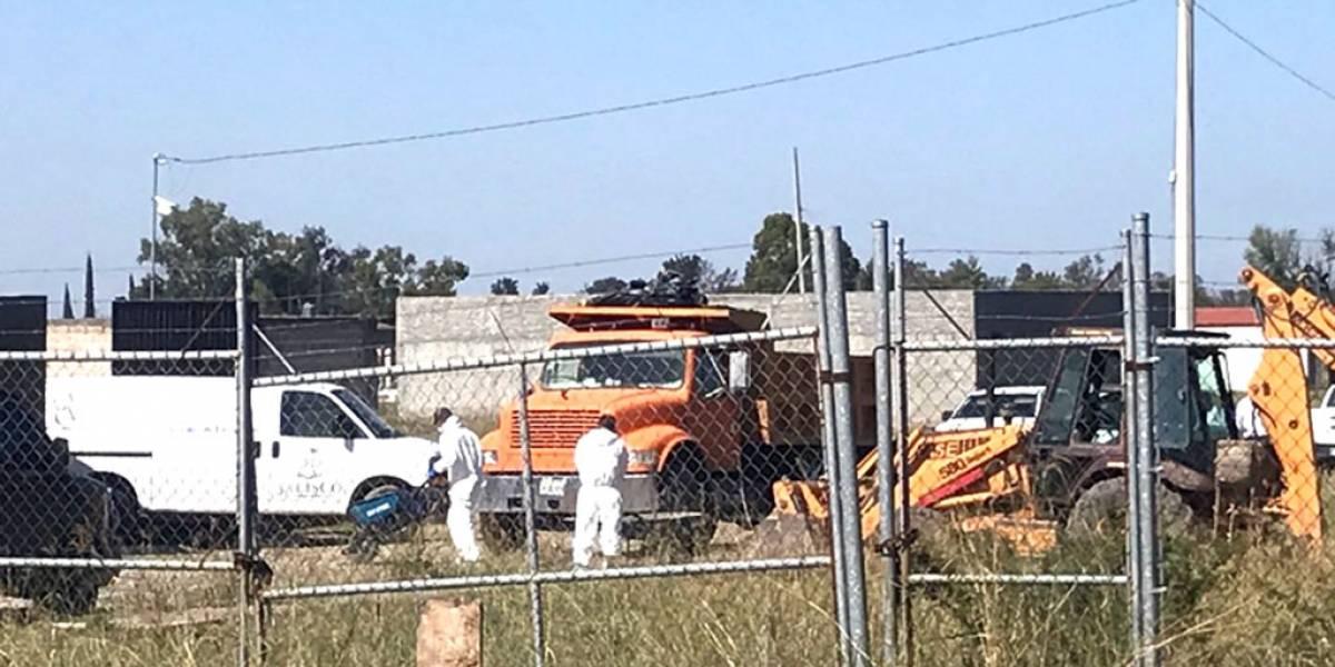 Suman 25 cadáveres hallados en una finca del poblado de El Zapote, en Tlajomulco