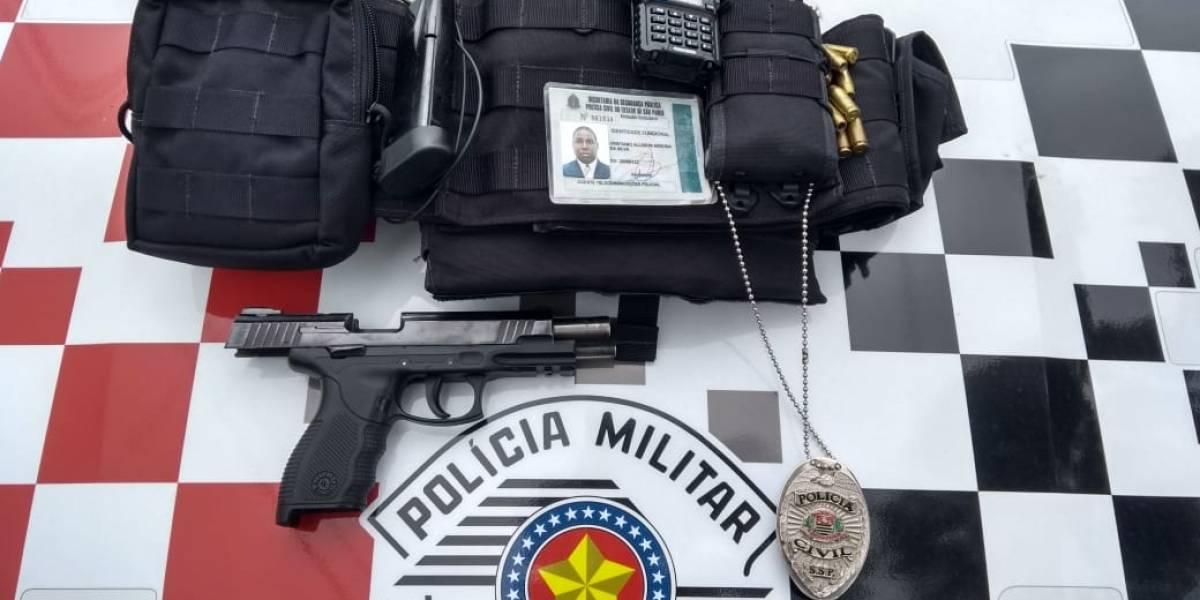 Informante do crime fingiu ser policial civil por um ano em São Paulo