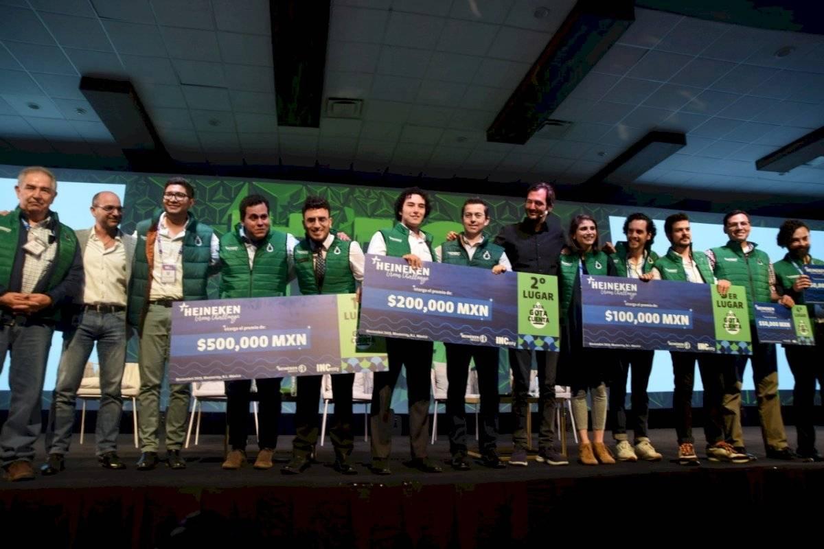 Finalistas del Heineken Green Challenge 2019