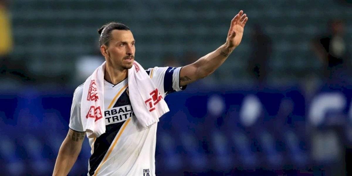 Zlatan Ibrahimovic se despide del Galaxy
