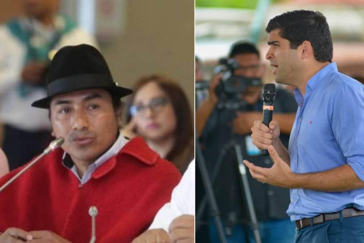 Otto Sonneholzner responde a amenazas de Leonidas Iza - Metro Ecuador