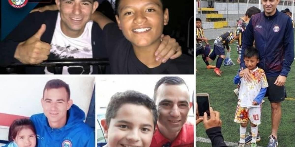 VIDEO. Equipos se solidarizan con el futbolista Marco Pappa