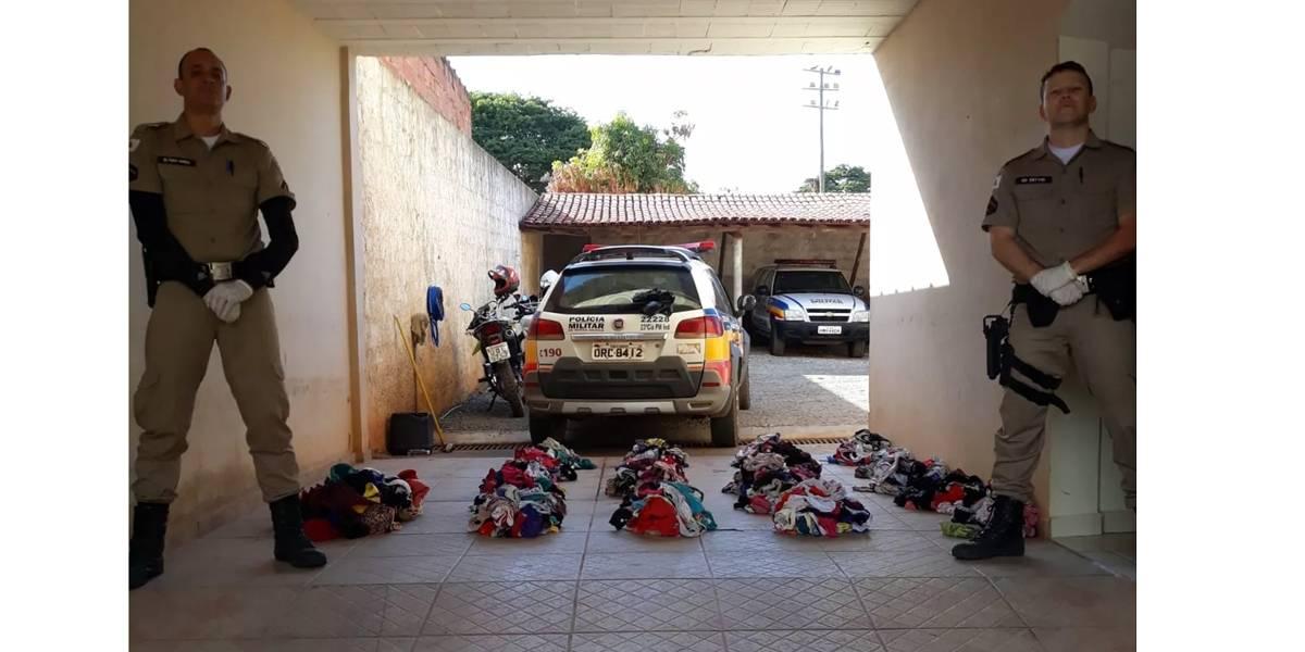 Ladrão de calcinhas atacava varais em Minas Gerais