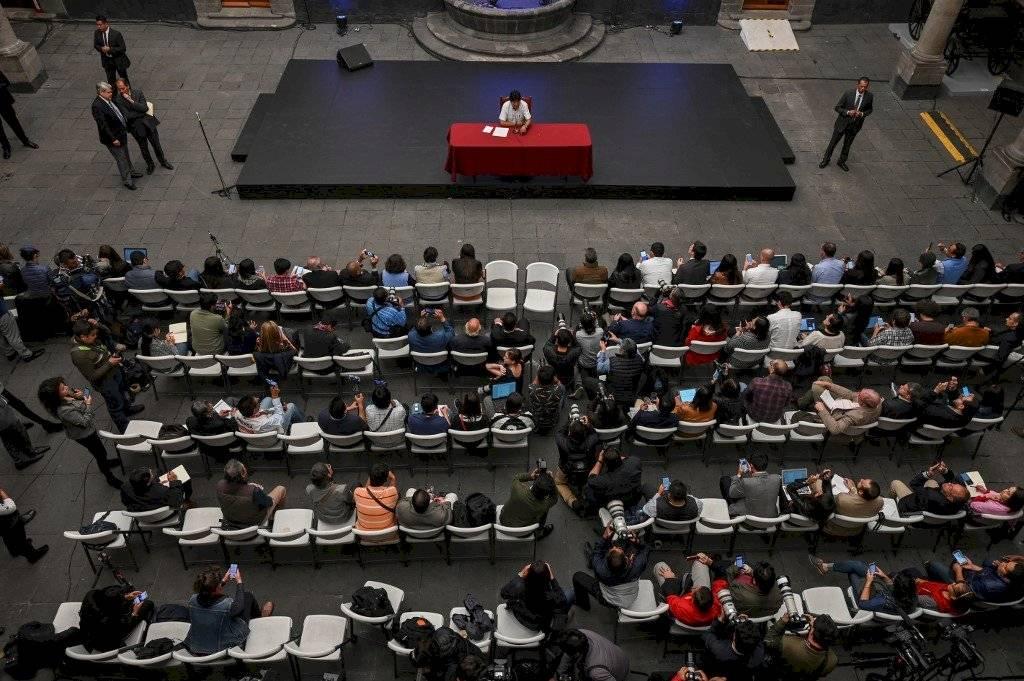 Conferencia de prensa de Evo Morales desde México