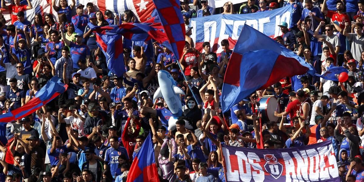 Los de Abajo organiza una marcha para impedir el partido entre la U y Everton en el Estadio Nacional