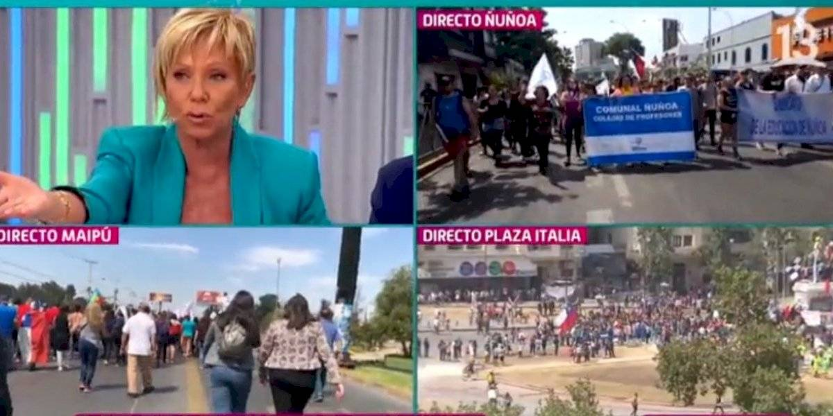 "Raquel Argandoña emplaza nuevamente a Sebastián Piñera: ""Está gobernando por Twitter"""