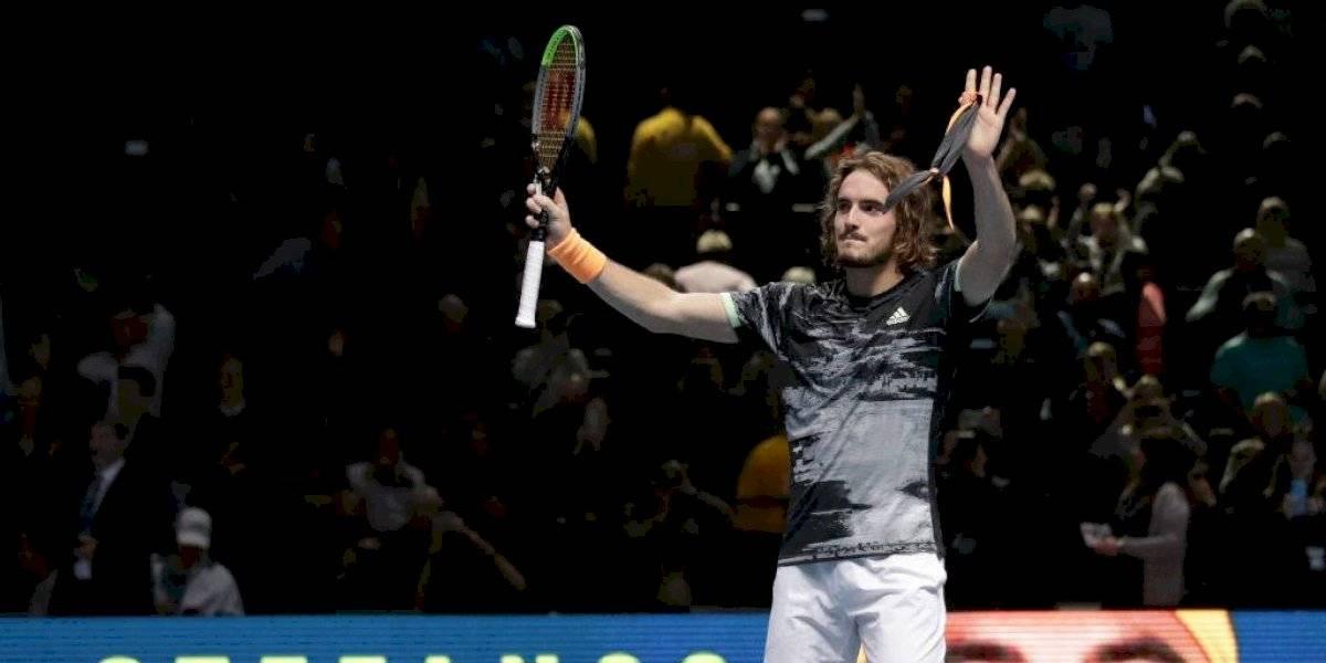 Stefanos Tsitsipas hace historia en las Finales ATP