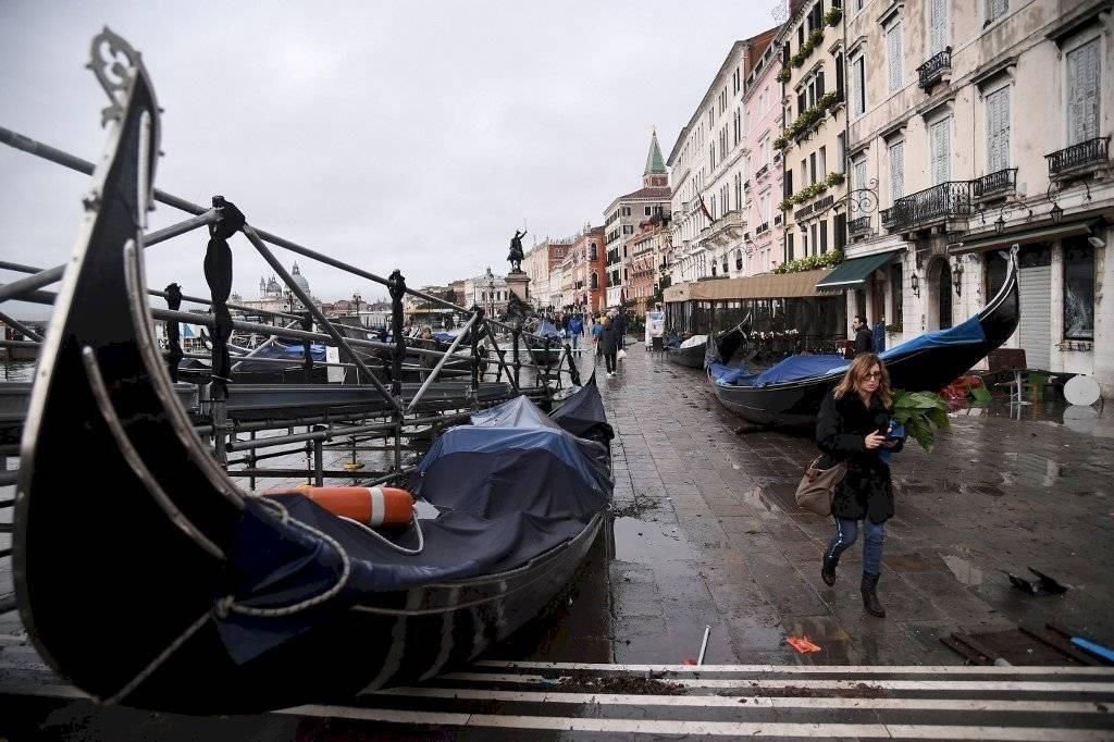 Acqua alta en Venecia
