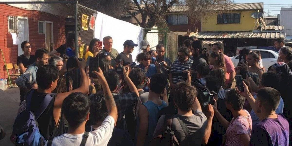 205 heridos denunciaron los vecinos de Lo Hermida por represión de Carabineros