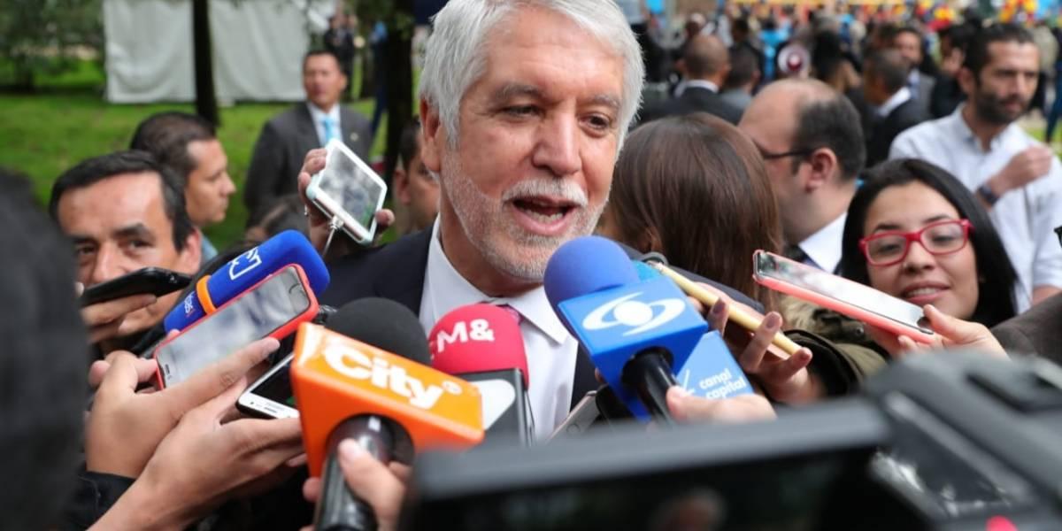 """""""Mientras haya una marcha en paz no habrá intervención del Esmad"""": Peñalosa"""