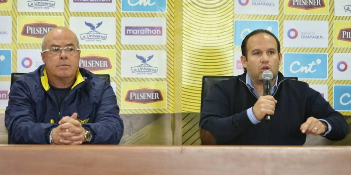 Jorge Célico liberó a jugadores de Liga de Quito y Delfín