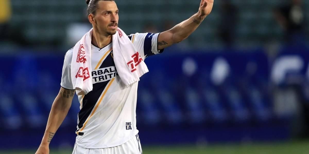 Zlatan Ibrahimovic se despide de LA Galaxy con un épico mensaje