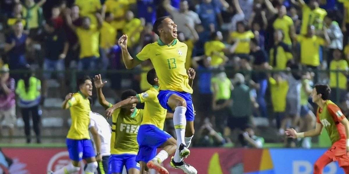 Brasil será rival de México en la final del Mundial Sub-17